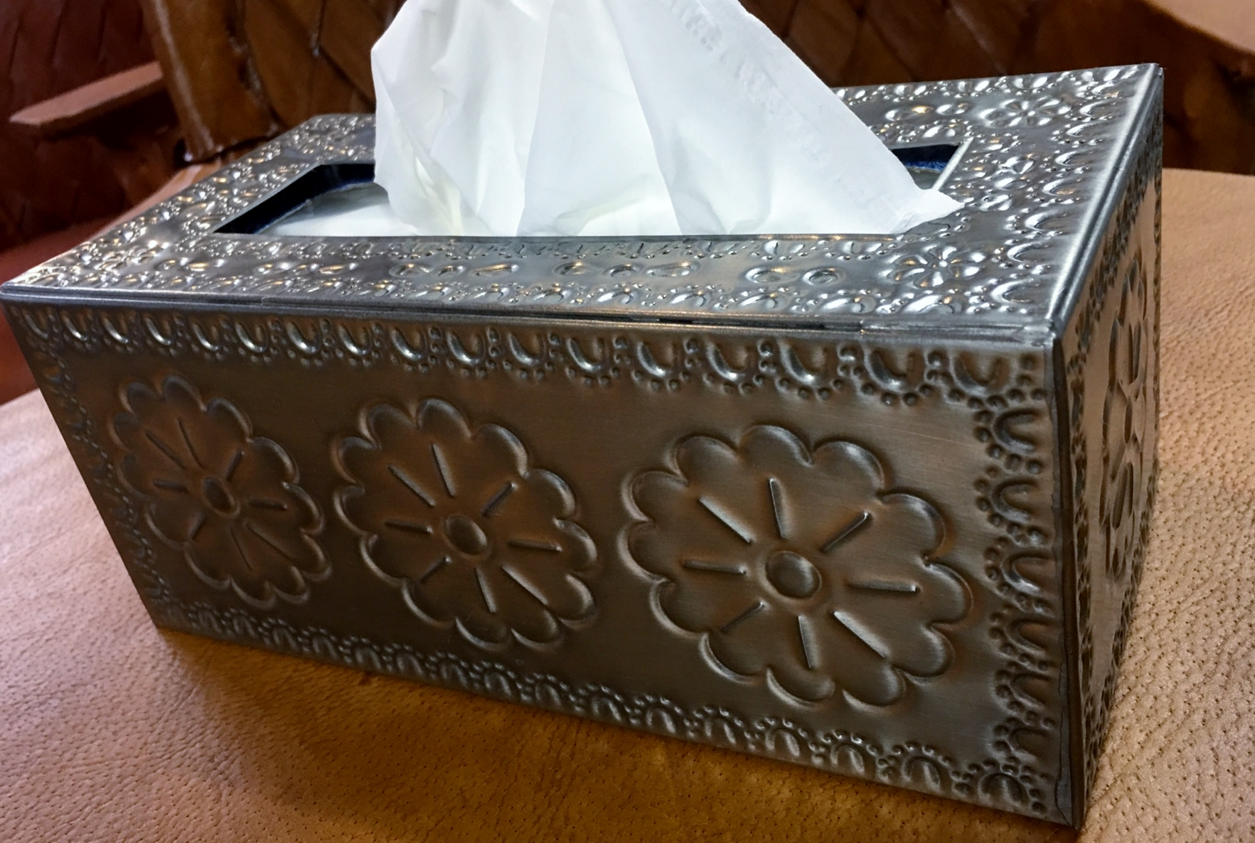 Tin Tissue Boxes