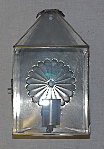 Mexican Metal Wall Sconces : Artesanos Mexican Imports Mexican Tin Lighting : Wall-sconce-496A